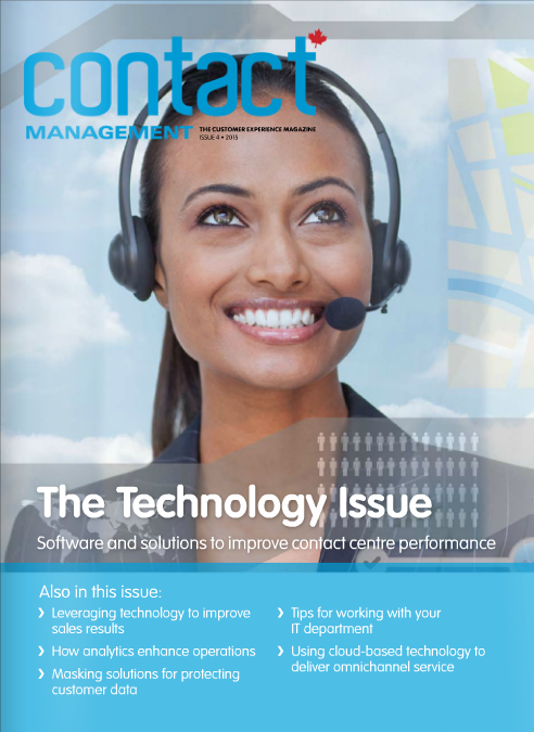 Contact Management Magazine Features Emily In It's Latest Technology Issue